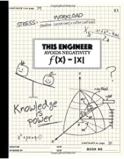 """Engineering Notebook: Graph Paper Notebook Quadrille 4 X 4 Quad Ruled Book: 100 Pages (.25"""" Lab Grid Format), 8"""" x 10"""""""