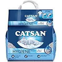 Catsan Hygiene Plus Cat Litter, 10 Litre