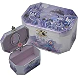 Cinderella Ballerina Jewelry Music Box-Wooden material (Wood)