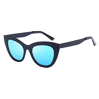 qiansu Cat Eye Sunglasses Mujer Diseñador Gafas de sol Mujer ...