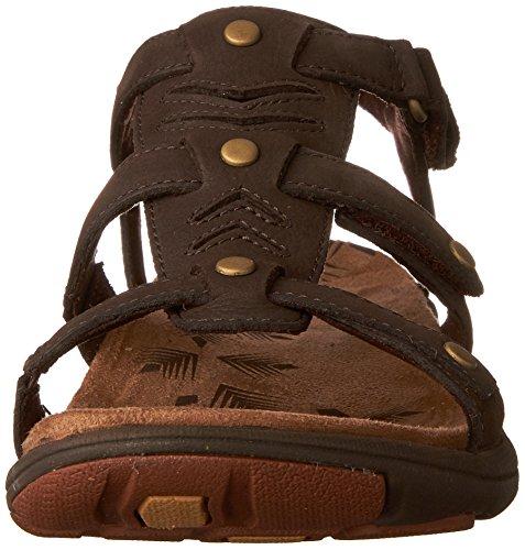 Merrell Womens Adhera Three Athletic Sandal Brown