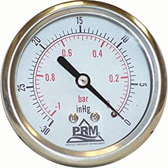 Where to hook up a vacuum gauge