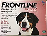 Merial Frontline Top Spot Flea and Tick Control for 89-to-132-Pound Dogs and Puppies, 6 Doses