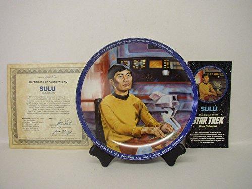 Star Trek Plate Collection~Sulu (Helmsman)