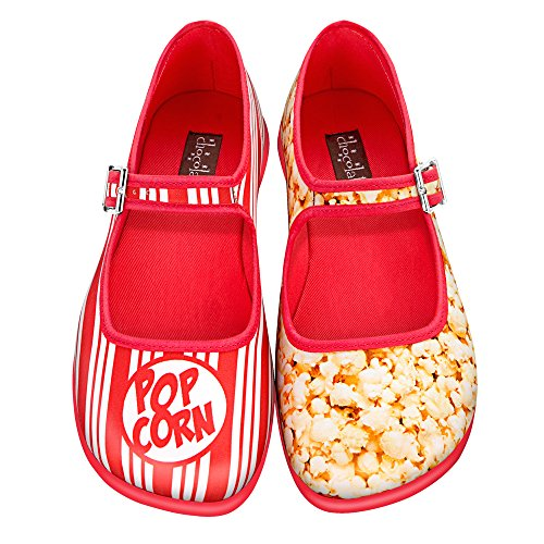 Mary para Mujeres Chocolate Jane Bailarina Design Hot colores Chocolaticas Popcorn Varios 0RX8ZqZ
