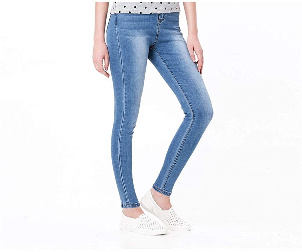 Newnessshop Jeans for Women Black Jeans High Waist Jeans Woman High Elastic Plus Size Stretch Jeans