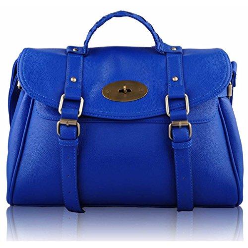 Xardi London-Borsa a spalla da donna motivo Borsa Tote-Borsa a tracolla Blue
