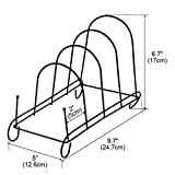 uxcell Metal Bowl Dish Plate Rack Drying Organizer