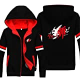 Vicwin-One Akame Ga Kill Logo Thick Hoodie Pullover Cosplay (Size L)