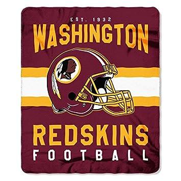 The NorthWest Co Washington Redskins Football Established 40 Custom Redskins Throw Blanket