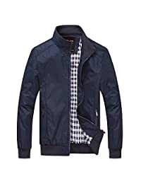b7f81b204b6 In-fashion style Mens Casual Lightweight Jacket Sportswear Outdoor Bomber  Coats