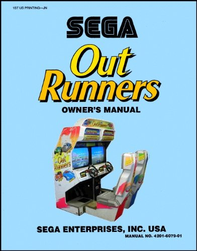 Out Runners Outrunners Arcade Game Service & Repair Manual