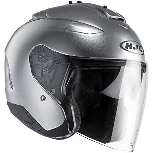 chollos oferta descuentos barato Casco de moto HJC IS 33 II Semi Mat Gris Clair Gris XS
