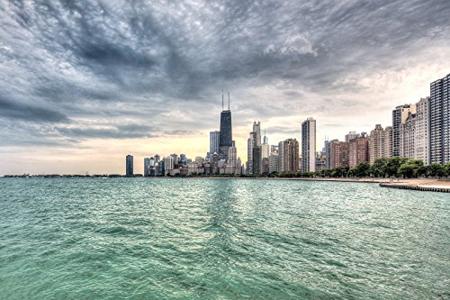 Hancock on the Water 10x15 - Place Water Chicago