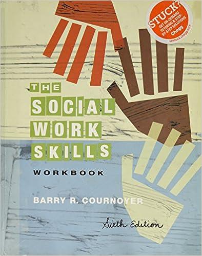 Social Work Skills Workbook (Paperback, 2010) 6th EDITION Workbook