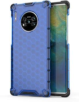 FAWUMAN Funda para Huawei Mate 30 Pro Soft TPU + Duro PC Doble ...
