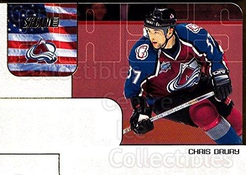 - (CI) Chris Drury Hockey Card 2001-02 Stadium Club NHL Passport 13 Chris Drury