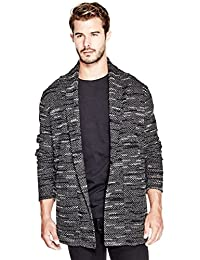 GUESS Men's Abbie Cardigan