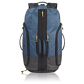 "Solo Velocity 15.6"" Laptop Backpack Duffel, Blue/Grey"