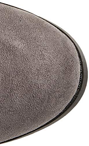 Stivali 4 Grigio Look Wide Alti Foot Grey Mid Donna Brum New vPa6nIw1qn