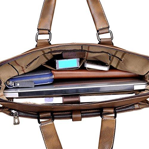 TT Bolso de los hombres de hombro bolsa de mensajero bolsa de negocios bolso de la computadora
