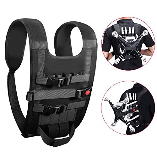 Oumers Drone Easy Carry Backpack / Vest For DJI Phantom 2 3 4 Vision Vision+ FC40, Flexible Multi-functional Shoulder Neck Strap Belt Harness Available Quadcopter Remote Controller Battery Propellers