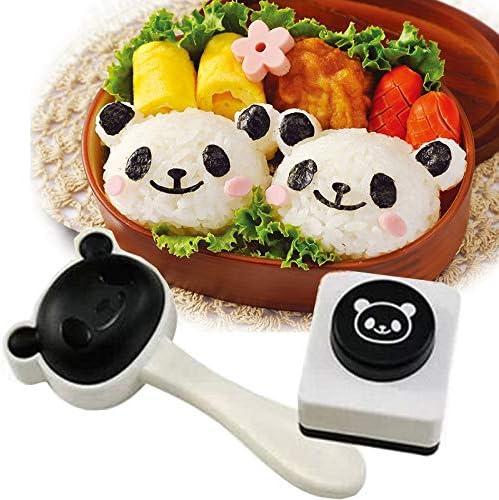 Cute Panda Onigiri Shaper Rice Ball Mold DIY Sushi Mould Kitchen Gadgets Bento