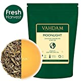 Diamond MOONLIGHT White Tea Leaves from the Himalayas (25 Cups) 1.76oz, World's Finest White Tea Loose Leaf, Sourced from High Elevation Tea Estates in Darjeeling, AROMATIC & FLOWERY, The Champagne of Teas