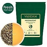 VAHDAM, Diamond Moonlight White Tea Loose Leaf (25 Cups) | HEALTHIEST TEA, 100% NATURAL White Tea Leaves | POWERFUL ANTI-OXIDANTS | Darjeeling Tea Loose Leaf | Brew as Hot Tea or Iced Tea | 1.76oz