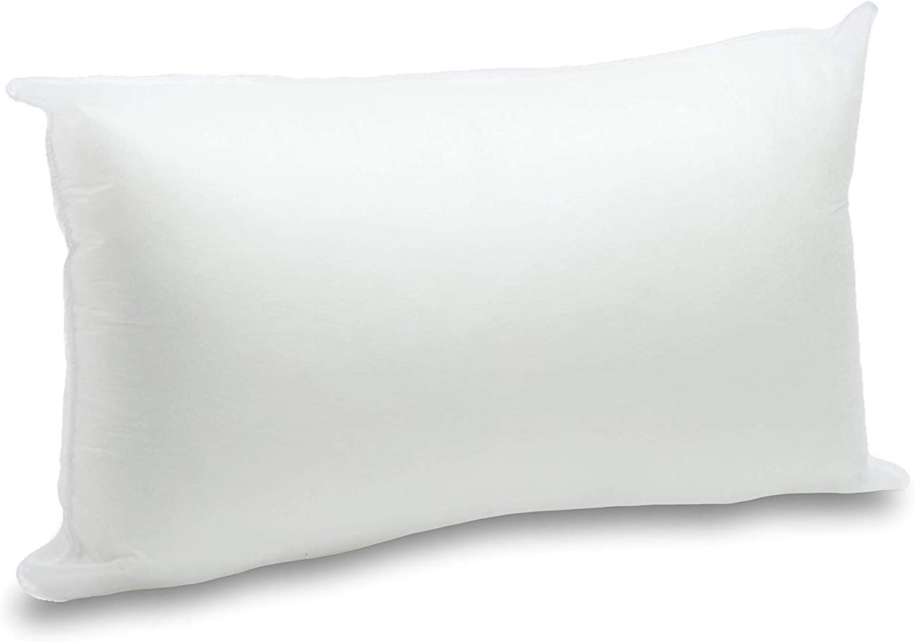 2 Rellenos cojines sofa hipoalergénicas para funda cojines decoracion y para almohadas de cama (50x70)