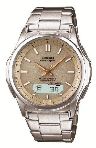 CASIO watch WAVECEPTOR Waveceptor solar radio watch MULTIBAND6 (Casio Womens Waveceptor Watch)