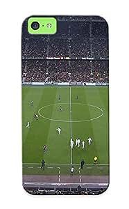 LJF phone case GlefnBr5043uiiqP Special Design Back Soccer Real Madrid Fc Barcelona El Clasico Phone Case Cover For Iphone 5c