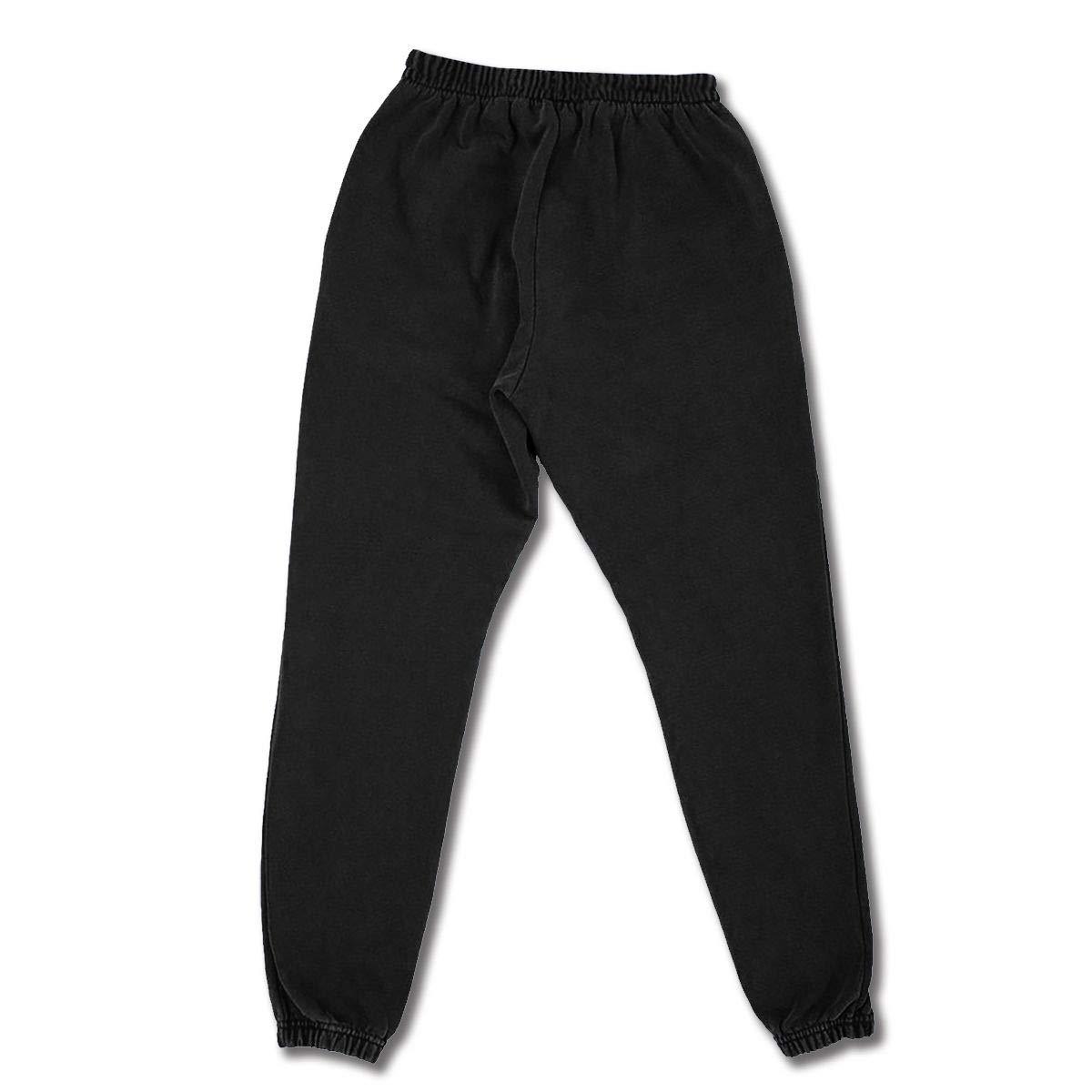 Cyloten Cow Print Sweatpants Mens Breathable Baggy Trousers Durable Jogging Pants