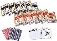 CAROSE Playing Cards Jumbo Index Large Print Decks of Cards Poker Size for Texas Hold'em Blackjack Cards G