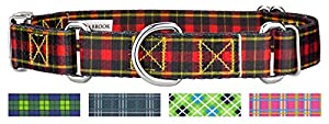 Country Brook Design Buffalo Plaid Martingale With Premium Buckle Collar - XS 50%OFF