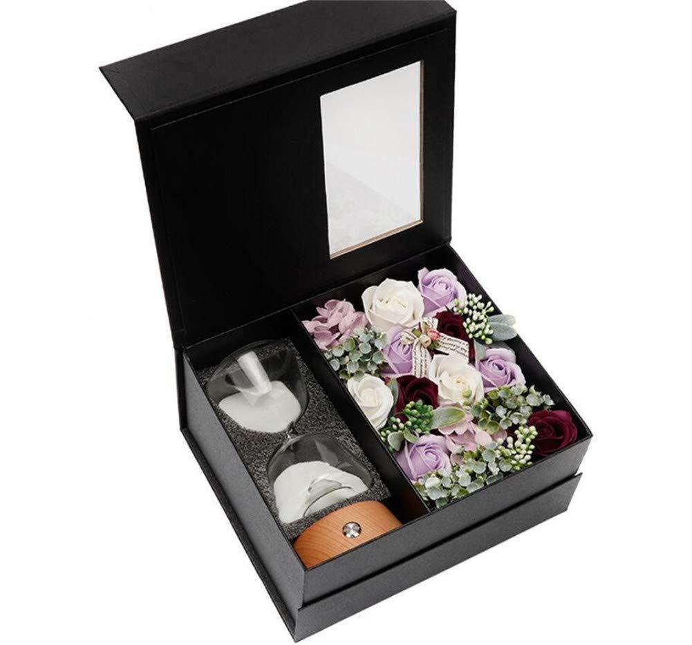 Amazoncom Soap Flower Gift Box Rose Creative Gift Colorful