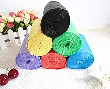 WXIN Color 25 Bolsas De Basura, Bolsas De Basura De Color ...