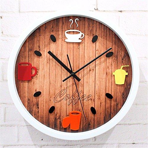 WERLM Diseño de personalidad a la decoración del hogar Reloj de ...