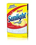 Sunlight Lemon Boost Auto Dish Powder (75-Ounce, 8-Pack)