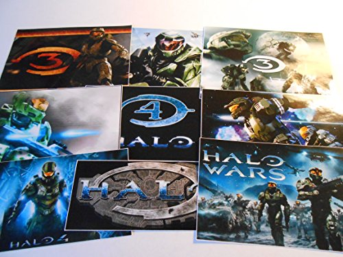 9 Video Game Stickers, Party Supplies, Favors,Labels, Birthday, Decorations ()