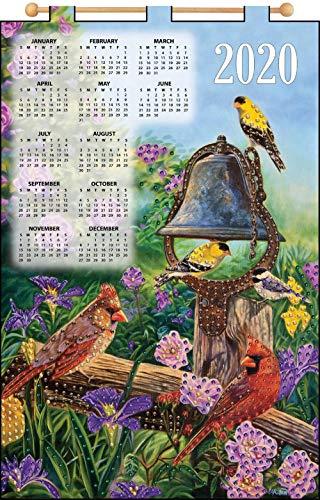 Design Works Garden Melodies Calendar Felt & Sequin Kit