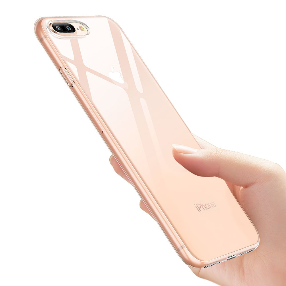 Funda iPhone 8 Plus, Ubegood Silicona Cover iPhone 7 Plus...