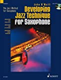 Developing Jazz Technique for Saxophone, , 1902455045