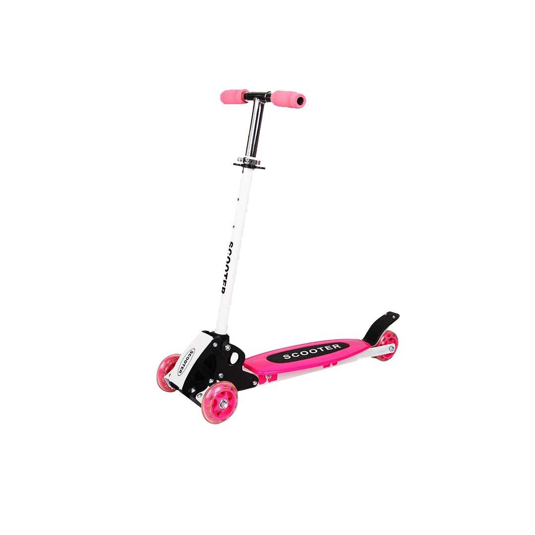 新版 TLMYDD 子供のスクーター折りたたみ鉄自転車PUリフト四輪スクーター、70 (色 x 26 x x Pink 80 cm 子供スクーター (色 : Red) B07NMPP1VF Pink Pink, アネット汐留:e450875a --- a0267596.xsph.ru