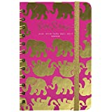 Lilly Pulitzer Pocket 17 Month 2016-2017 Agenda, Tusk in Sun, Pink (162326)