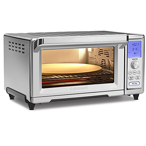 Cuisinart TOB-260N Chef's Toaster Convection Oven, Silver [DISCONTINUED] (Exact Heat Toaster Oven Broiler compare prices)