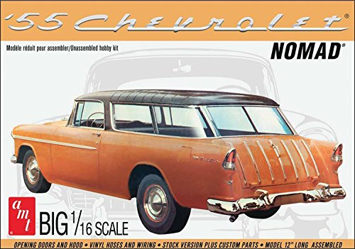 AMT AMT1005 1: 16 1955 Chevy Nomad Wagon (Scale Kits 16 1 Car Model)