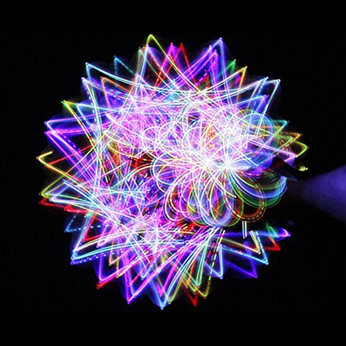 Lamp Magic Spinning (4-light Rainbow LED Rave Orbital Orbit Light Show)
