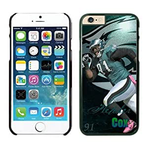 Philadelphia Eagles Fletcher Cox Case Cover For SamSung Galaxy S6 NFL Cases Black NIC14357