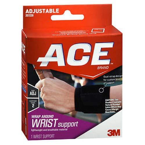 Ace Wrist Brace - Ace Ace Wrap Around Wrist Support, 1 each (Pack of 2)